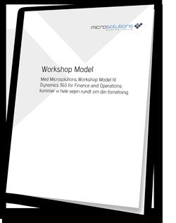 Bestil brochure og mere information om implementering af Dynamics 365
